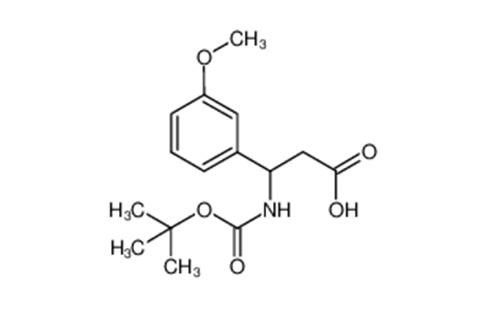 3-(BOC-AMINO)-3-(3-METHOXYPHENYL)PROPINIC ACID