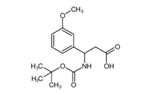 3-(BOC-AMINO)-3-(3-METHOXYPHENYL)PROPIONIC ACID
