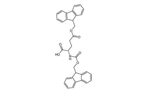 N-α(FMOC)-L-glutamic acid α-fluorenylmethyl ester