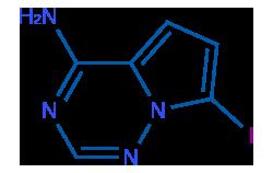 1770840-43-1 7-碘吡咯[2,1-f][1,2,4]三嗪-4-胺