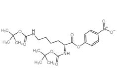 Boc-Lys(Boc)-ONp CAS No.: 2592-19-0
