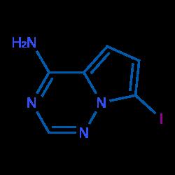 台湾1770840-43-1 7-碘吡咯[2,1-f][1,2,4]三嗪-4-胺