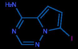 上海1770840-43-1 7-碘吡咯[2,1-f][1,2,4]三嗪-4-胺